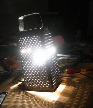 ikea grate lamp
