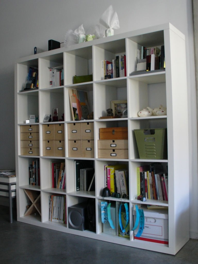 organise your expedit bookcase ikea hackers ikea hackers. Black Bedroom Furniture Sets. Home Design Ideas