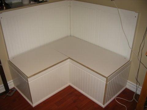 Hemnes frame with seating platform