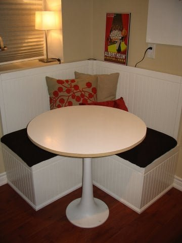 Hemnes daybed to banquette
