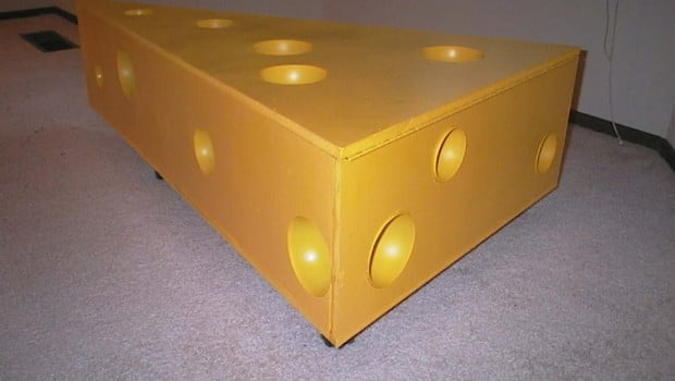 Cheese storage cabinet