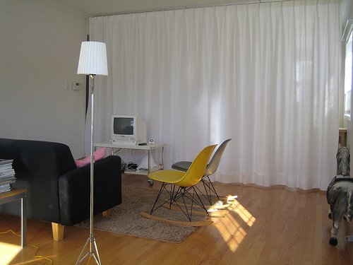 curtain room divider IKEA Hackers