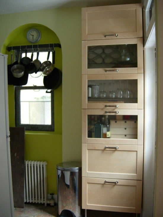 kitchen storage from wall cabinets ikea hackers ikea hackers
