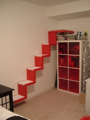 IKEA LACK cat stairs