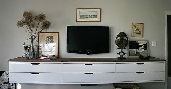 A Winning Stolmen Floating Credenza For The Bedroom Ikea