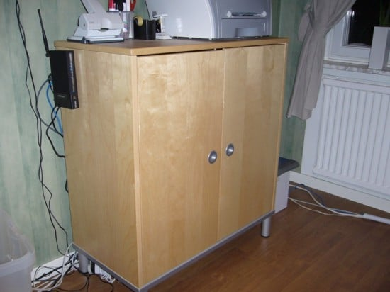 Mini Web Server Cabinet Hackers