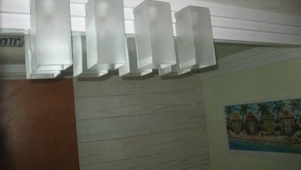 Grono Lamps As Bathroom Lights Ikea Hackers Ikea Hackers