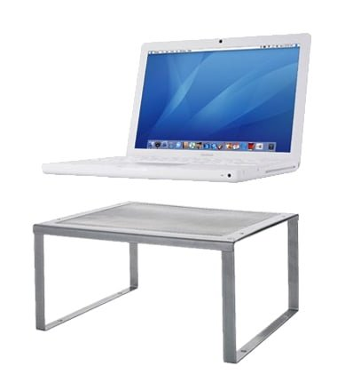 need a laptop desk diy your own stand ikea hackers ikea hackers. Black Bedroom Furniture Sets. Home Design Ideas