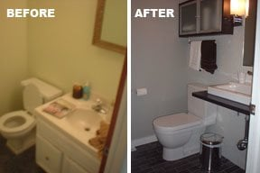 Ikea Bathroom Remodel From Drab To Fab Bathroom Remodel  Ikea Hackers