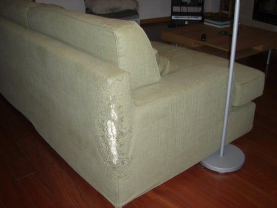 the tatty sofa