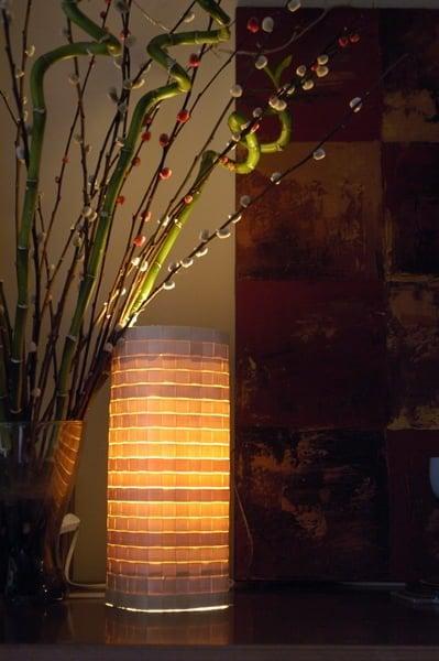 ikea hack lamp 5