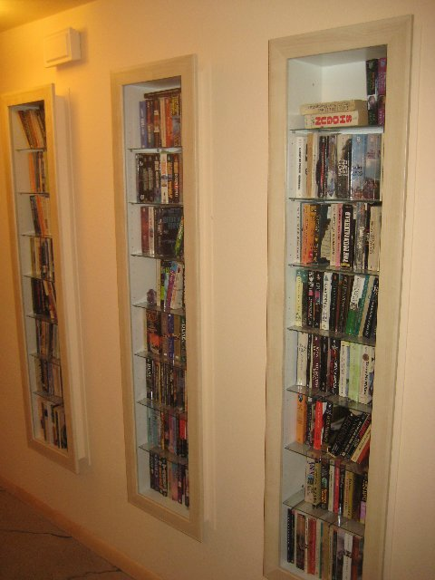 Wall Display Cabinet For Books Ikea Hackers
