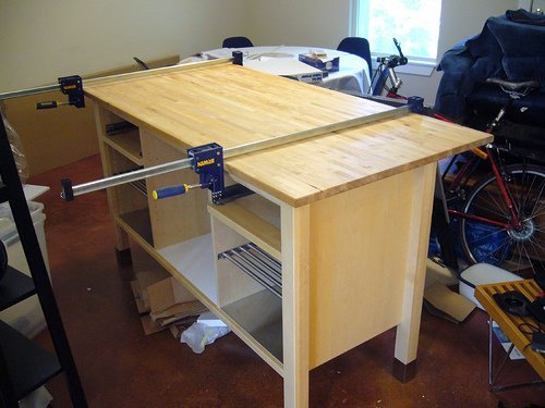 Ikea Mandal Chest Of Drawers ~   kitchen island with breakfast counter  IKEA Hackers  IKEA Hackers