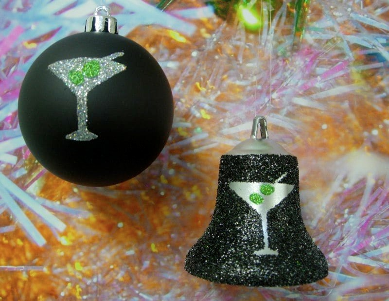 glamorized isig christmas ornaments - IKEA Hackers