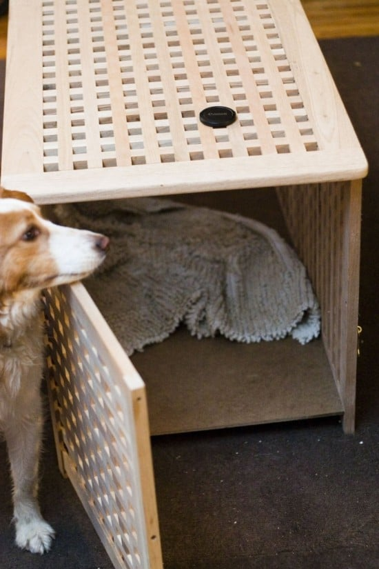 A Tasteful Dog Crate You Don 39 T Have To Hide Ikea Hackers Ikea Hackers