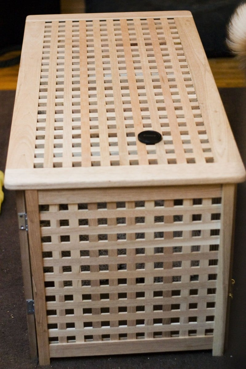 A Tasteful Dog Crate You Donu0027t Have To Hide   IKEA Hackers   IKEA Hackers Part 86