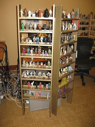 Show Em Off An Action Figure Cabinet And Screen Ikea
