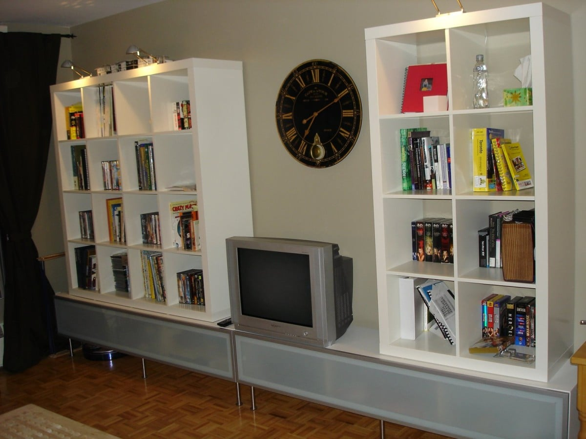 A Vattern Tv And Entertainment Unit Ikea Hackers