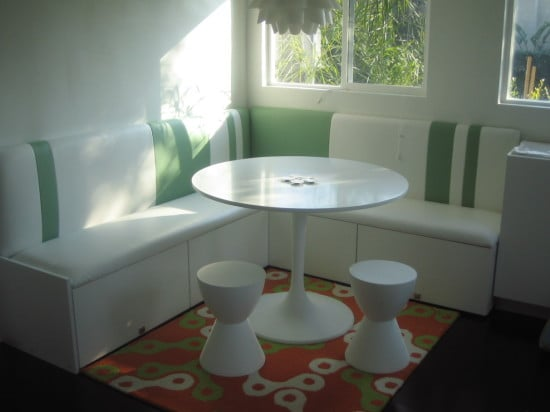 make a compact banquette from kitchen cabinets ikea hackers ikea hackers. Black Bedroom Furniture Sets. Home Design Ideas