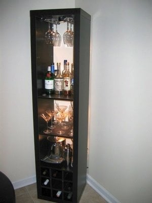 Expedit Wine Rack And Bar Ikea Hackers Ikea Hackers