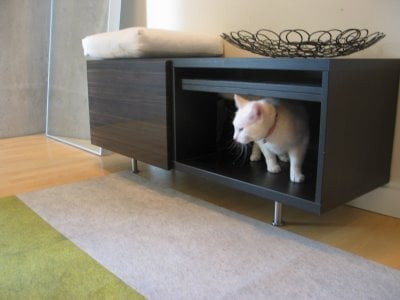 Put A Cat Litter Box At The Entryway Ikea Hackers