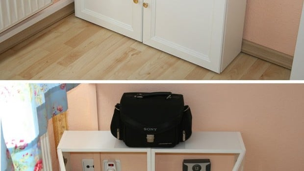 hide your cables in a vattern ikea hackers ikea hackers