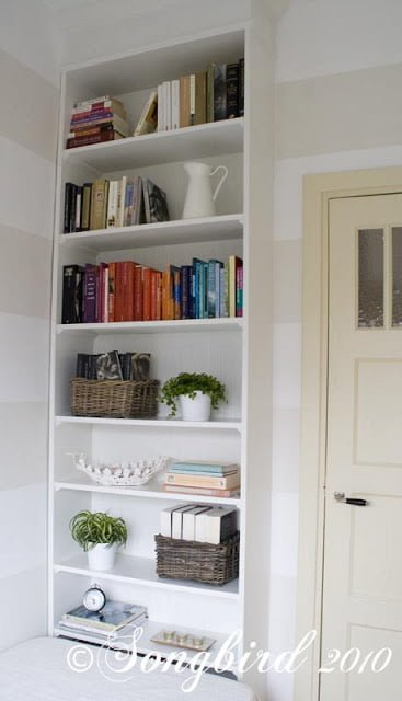 Ikea Hack Bookcase: Billy Bookcase Becomes Built-in