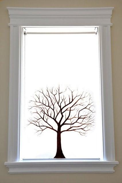 nature inspired enje roller blind ikea hackers ikea. Black Bedroom Furniture Sets. Home Design Ideas