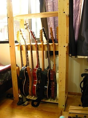 A Gorm Guitar Shelf Ikea Hackers Ikea Hackers