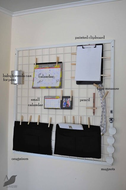 Custom Wall Sized Clipboards Ikea Hackers Ikea Hackers