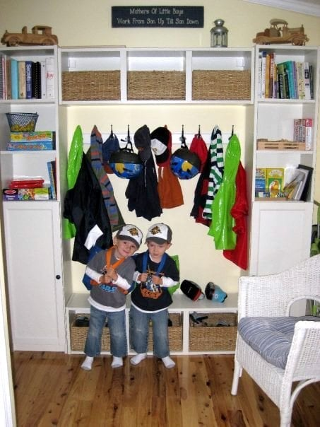 Mudroom For Kids Ikea Hackers