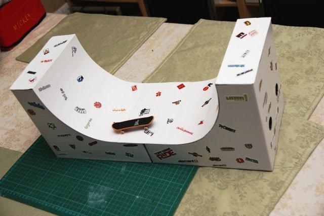 flyt miniramp for fingerboards