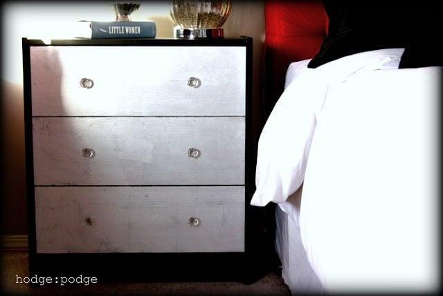 silver leaf dresser