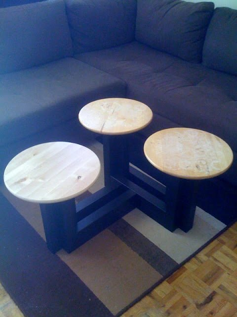 Lack Lazy Susan Coffee Table Ikea Hackers Ikea Hackers