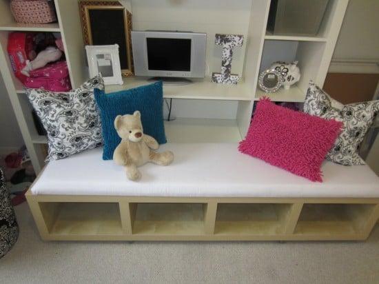 LACK bench for girls room
