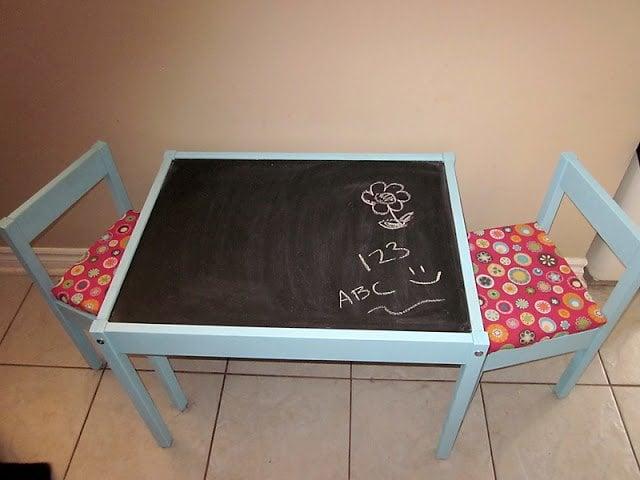 Latt Chalkboard Play Table Ikea Hackers Ikea Hackers