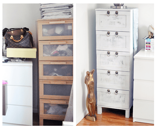 Boring Birch Ikea Chest of Drawers Makeover  From Drab to Fab. Boring Birch Ikea Chest of Drawers Makeover  From Drab to Fab