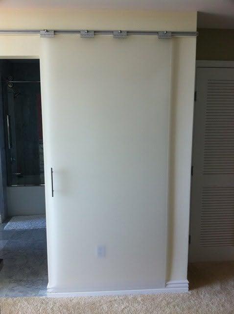Turn Pax Rails Into Sliding Doors Ikea Hackers