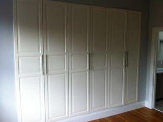 Pax Built Ins The Tall Doors Ikea Hackers