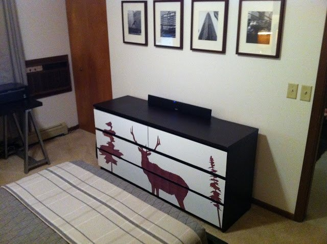 elk malm dresser ikea hackers ikea hackers. Black Bedroom Furniture Sets. Home Design Ideas