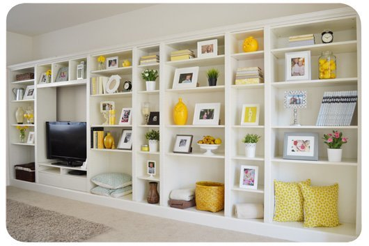 Billy bookcases to built ins ikea hackers ikea hackers - Porte bibliotheque ikea ...