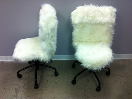 Fur Desk Chairs Ikea Hackers Ikea Hackers
