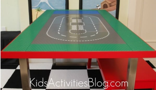 Lego Table For The Big Kids Ikea Hackers
