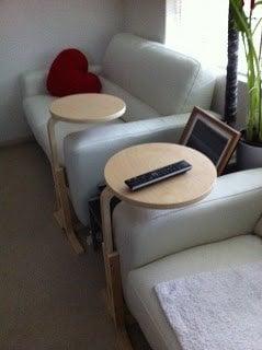 Frosta Dual Speaker Stands Bar Table Ikea Hackers