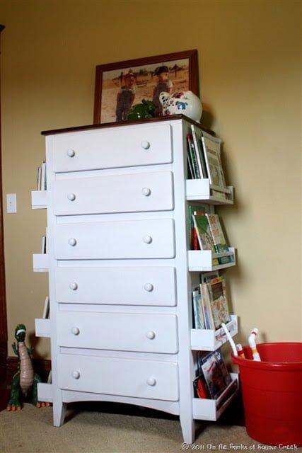 Forward Facing Bookshelf Dresser - IKEA Hackers