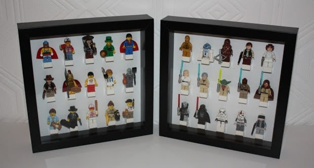 Ribba Lego Minifigure Display Ikea Hackers Ikea Hackers