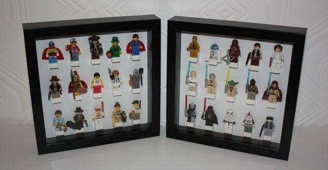 Ribba Lego Minifigure Display Ikea Hackers