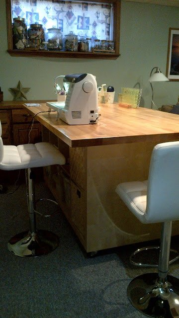 The Ultimate Quilting Table Ikea Hackers Ikea Hackers