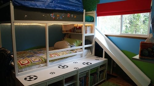 Kura Bed With Slide Ikea Hackers