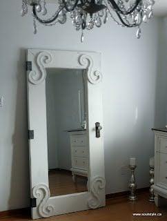 Diy Vintage Door Mirror Ikea Hackers